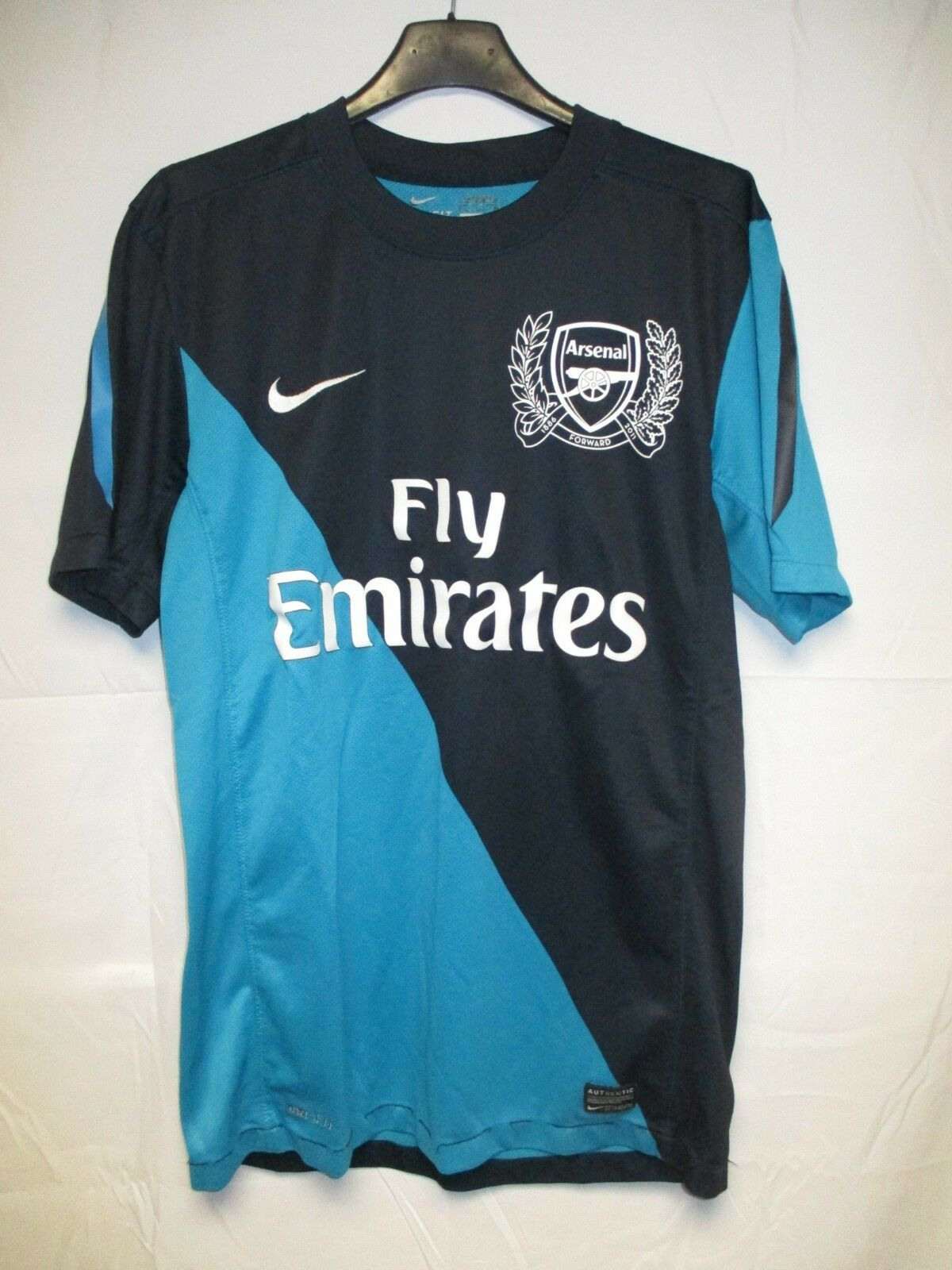 Maillot ARSENAL 2012 NIKE away shirt jersey trikot football The GUNNERS S