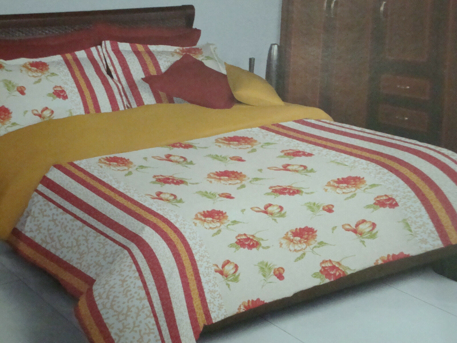 Bed sheet Textile Home decore home furnishing Bed room cotton cloth pillow cover