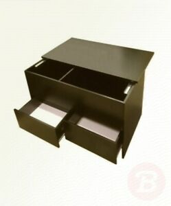 Coffee Table With Sliding Top Storage.Details About Redstone Black Coffee Table Slide Top With Storage Inside And 2 Drawers
