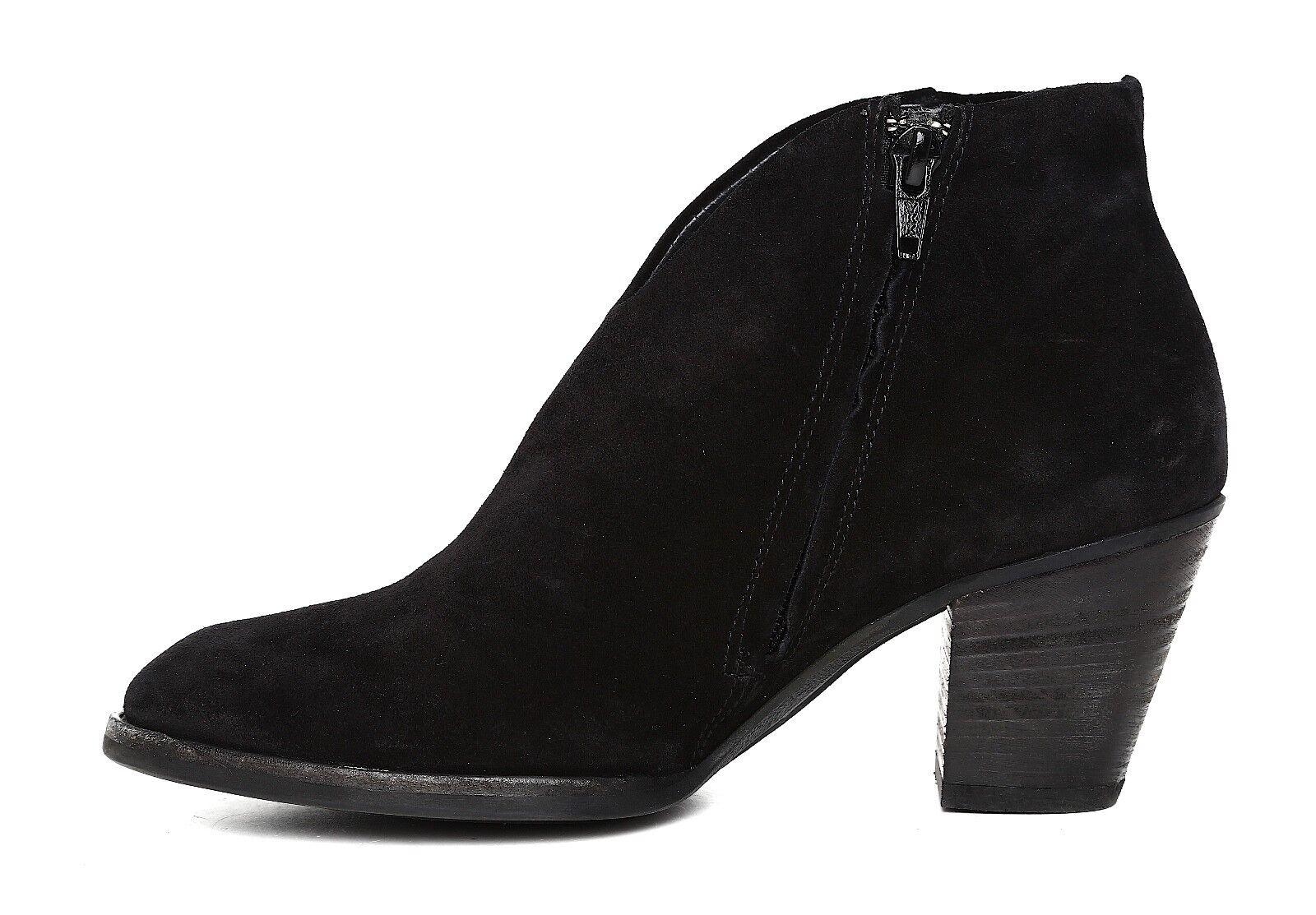 Paul Green Delgado Suede Ankle Bootie Black Women Sz Sz Sz 3.5 UK 5705  238a3d