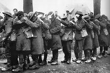 WW1 - Blessés britanniques aveuglés par un obus à gaz