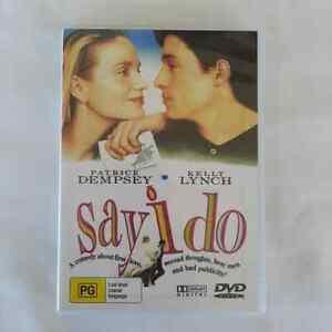Say-I-Do-DVD-Patrick-Dempsey-Kelly-Lynch-FREE-POST