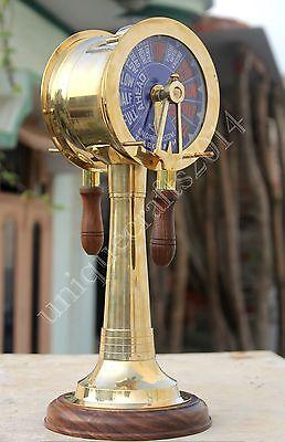 Vintage Maritime Brass Ship/'s Engine Order Telegraph Collectible Decorative