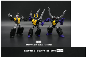 Bad Cube OTS-050607 HYPNO CLAYMORE KICKBUTT G1 Insecticon Transformersnenew