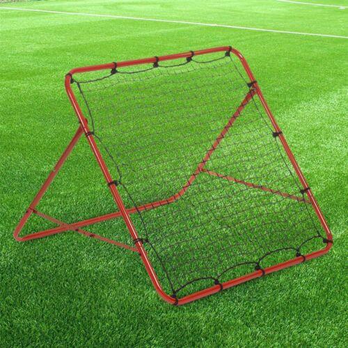 Boys Rebounder Net Ball Kickback Soccer Goal Football Training Game Kids Target