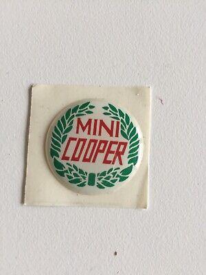 Bage logo 27mm car pommeau levier de vitesse Austin Mini Rover Cooper sport