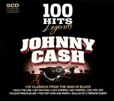 100 Hits Legends: Johnny Cash [Box] by Johnny Cash (CD, Mar-2011, 5 Discs, 100 Hits)