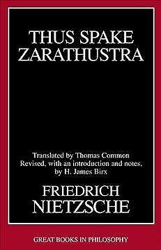 Thus Spake Zarathustra, Paperback by Nietzsche, Friedrich Wilhelm; Common, Th...