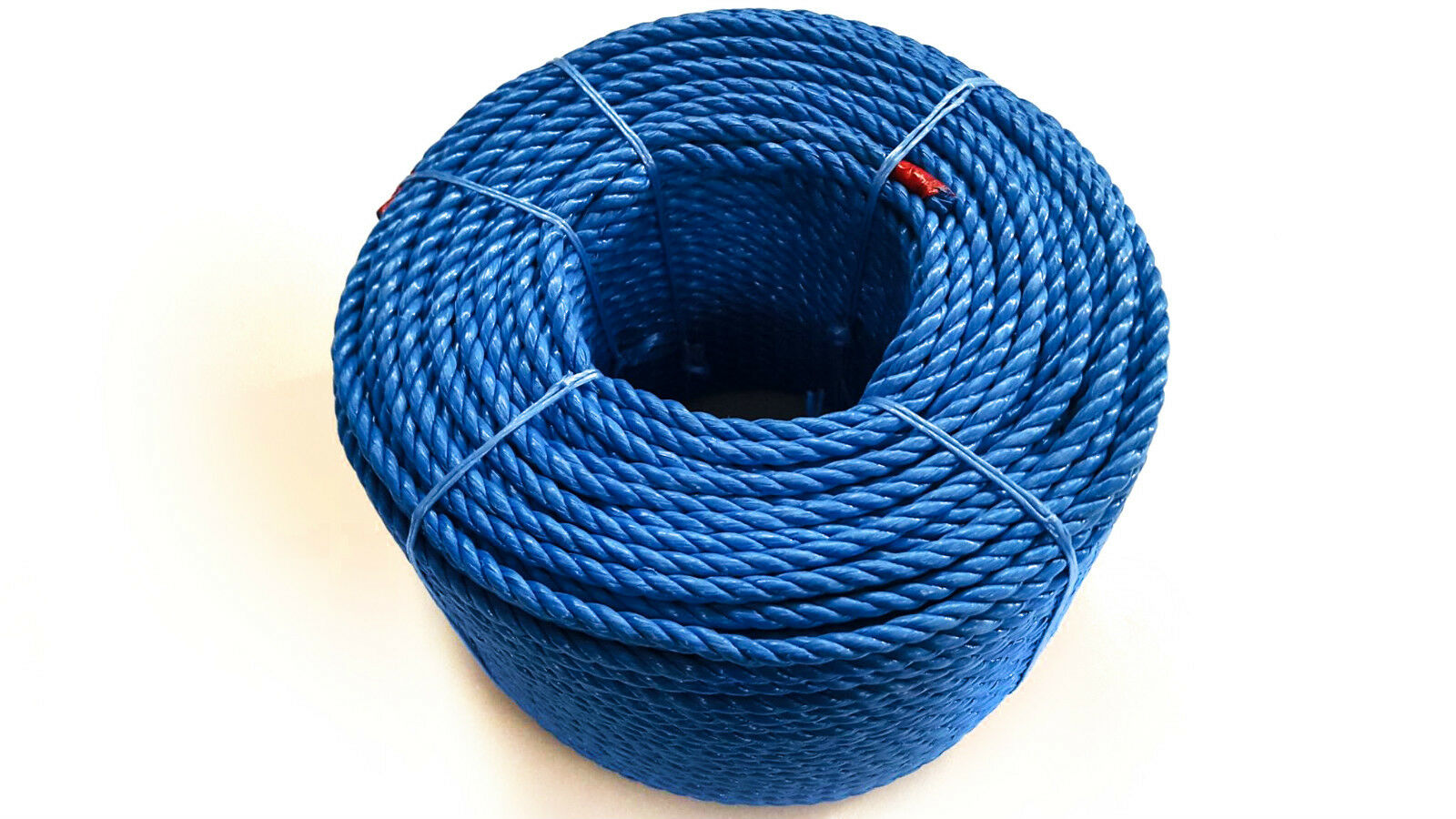 bluee Polypropylene Rope Coils, 24mm Polyrope, Sailing, Agriculture, Camping,