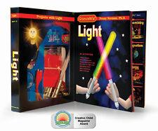 SCIENCEWIZ - LIGHT & OPTICS KIDS 25 ACTIVITES EDUCATIONAL SCIENCE & ACTIVITY KIT