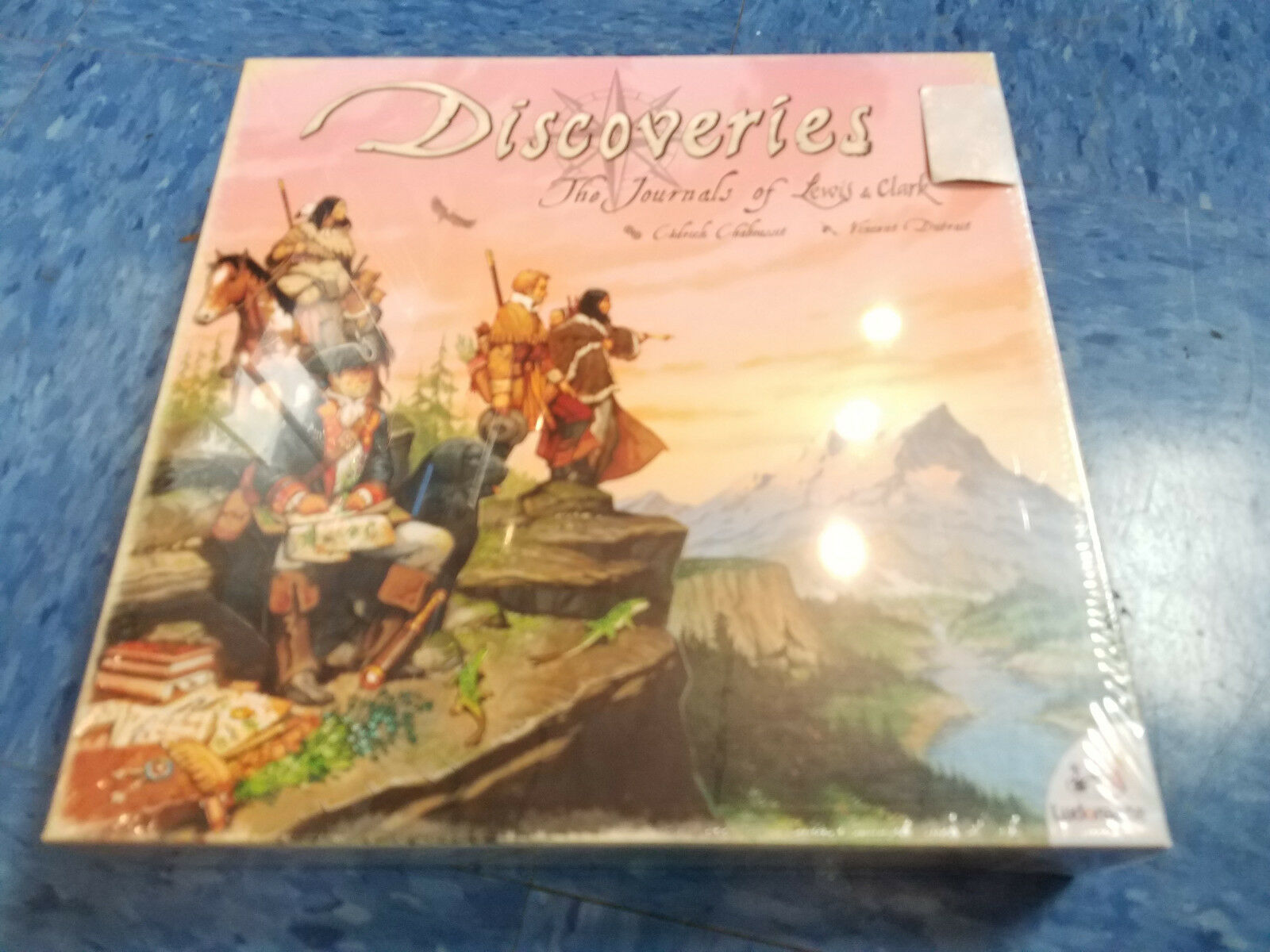 Discoveries The Journals Of Lewis And Clark - Asmodee Games Board Game Nuovo