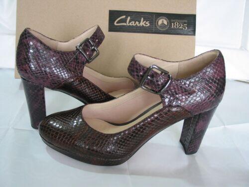 Clarks en 5 taille Narrative 5 Nouveau 5 marron et Escarpins cuir Kendra Gaby 3 C1x7XZd