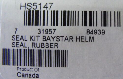 SeaStar HS5147 Seal Kit for Baystar HH401-HH4016 Helm Hydraulic Steering Boat MD