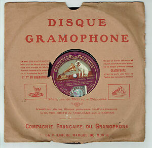 78T-Mons-CLEMENT-Tenor-Disk-Sound-JOCELYN-Lullaby-Sung-GRAMOPHONE-RARE