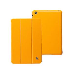 Jisoncase-Newest-Yellow-Micro-Fiber-Case-Cover-W-O-Seams-For-Apple-New-mini-iPad