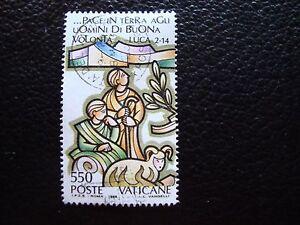 Vatikan-Briefmarke-Yvert-und-tellier-Nr-848-gestempelt-A28-Briefmarke-a