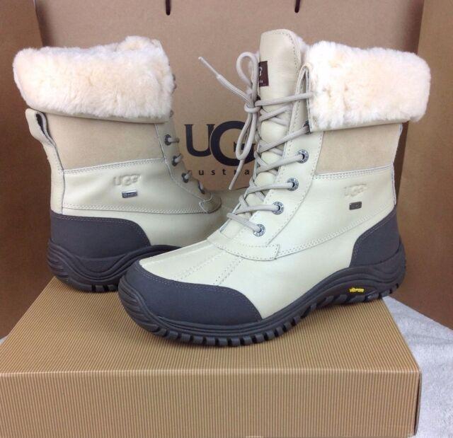 e9e249ff4e8 UGG Australia Adirondack II Sand Leather BOOTS Women 7.5