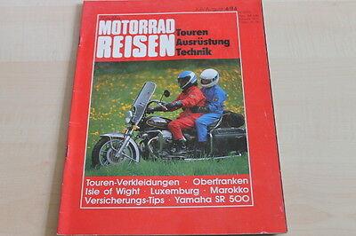 151783) Yamaha Sr 500 - Motorrad Reisen 04/1984