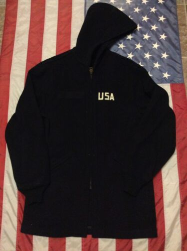 Vintage US Air Force Academy Cadet Long Hooded 70s