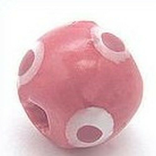 18mm hibiskus 1Stk Keramikperle Kikubwa ca