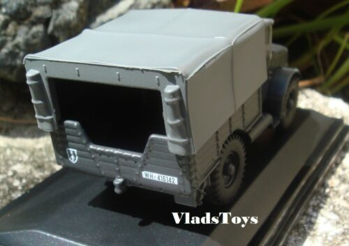 Oxford Military 1//76 Bedford MWD Luftwaffe Captured Vehicle WWII 76MWD008