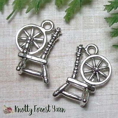 50pc S//S Plated Dancing Spinning Ballerina Charms 5835