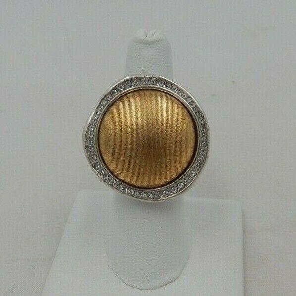 Brighton TRINITY Ring Size 9  Swarovski Crystals J60731  NWT
