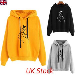 UK-Womens-Long-Sleeve-Hooded-Hoodie-Tops-Blouse-Ladies-Autumn-Winter-Sweatshirt