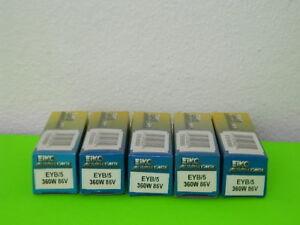5x NEW EIKO ADVANTAGE EYB-5 PROJECTOR LIGHT BULB 360W 86V LOT OF 5x