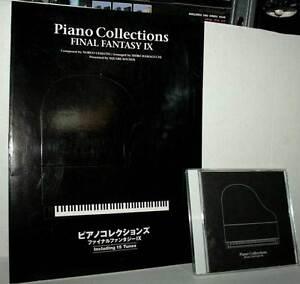 FINAL-FANTASY-IX-THE-PIANO-COLLECTION-PARTITIONS-DE-MUSIQUE-D-039-OCCASION-VERT