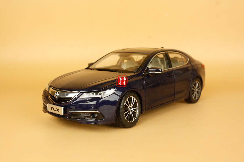 acquista marca 1 18 Acura TLX Die Cast modello blu blu blu Coloreeeee  fino al 70% di sconto