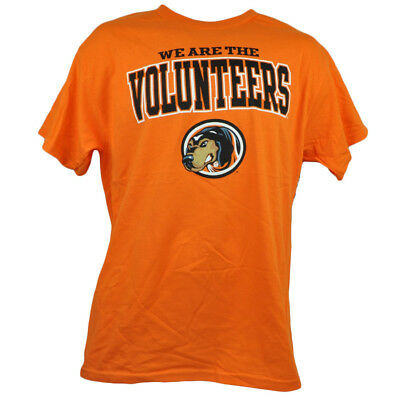 WunderschöNen Ncaa We Are Tennessee Volunteers Vols Orange T-shirt Herren Baumwoll Kurzärmelig Wohltuend FüR Das Sperma Fanartikel Baseball & Softball