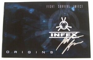SD-Comic-Con-Exclusive-NEW-Signed-Keith-Arem-INFX-Origins-Fight-Survive-Infect