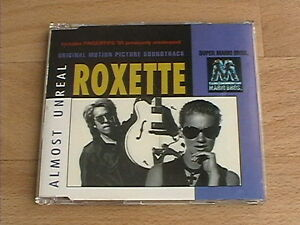 ROXETTE  ALMOST UNREAL RARE amp DELETED 1993 CD SINGLE - <span itemprop=availableAtOrFrom>Suffolk, United Kingdom</span> - ROXETTE  ALMOST UNREAL RARE amp DELETED 1993 CD SINGLE - Suffolk, United Kingdom