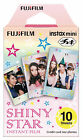 Fujifilm Fuji Instax Mini Film 10 Instant Photo Polaroid for 7s 8 25 50s 90 Sp-1 Shiny Star