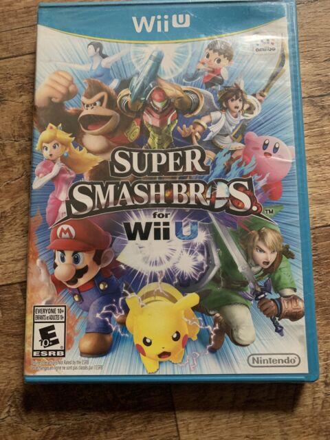 NEW Sealed Super Smash Bros(But Case Has Wear) Nintendo Wii U