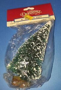 "Lemax Dickensvale Christmas Village 6"" BRISTLE TREE 1992 14003"