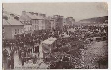 Market Day, Bantry, Co. Cork, Ireland Postcard, B404
