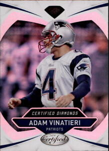 2018-Panini-Certified-Football-Insert-Singles-Pick-Your-Cards