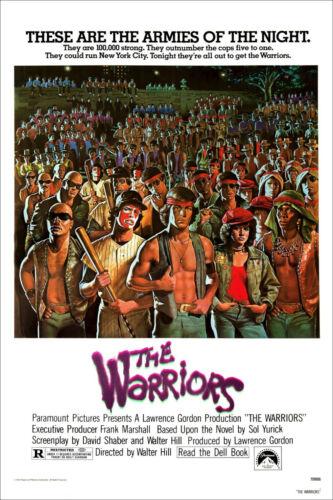 THE WARRIORS 1979 70s ORIGINAL CINEMA FILM MOVIE ART PRINT PREMIUM POSTER