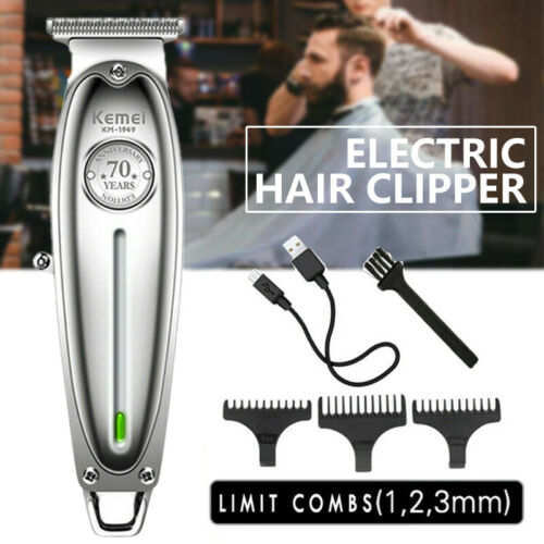 New Release Kemei KM-1949 Metal Electric Hair Clipper Professional & Home Hair Trimmer Tool  NRNncd3AA
