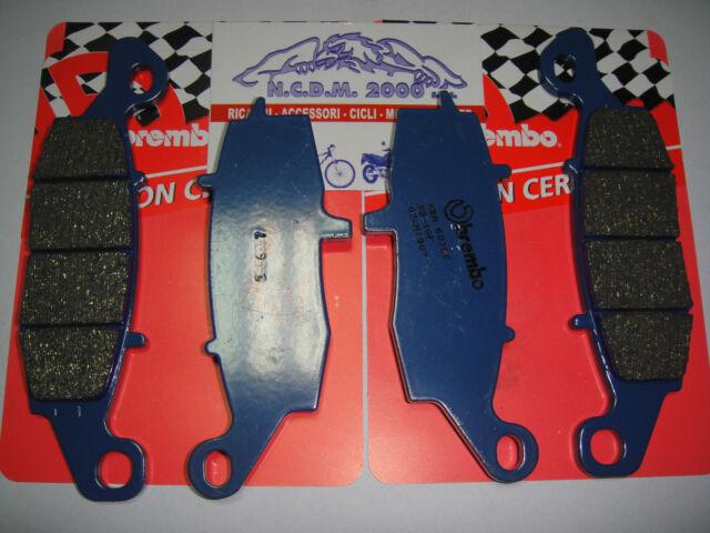 4 Pastillas de Freno Delantero Brembo Azul 07KA1907 + 1807 Kawasaki Z 750 Z750