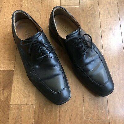 Ecco Mens Leather Shoes Size 44  eBay