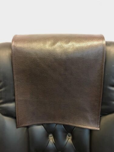 "Recliner 30/"" x 30/"" DARK  BROWN Ford Head Rest Cover Vinyl Sofa seat Chaise"