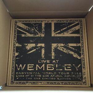 BABYMETAL-en-vivo-en-Wembley-Arena-una-Edicion-Limitada-Blu-ray-de-Japon-F-S