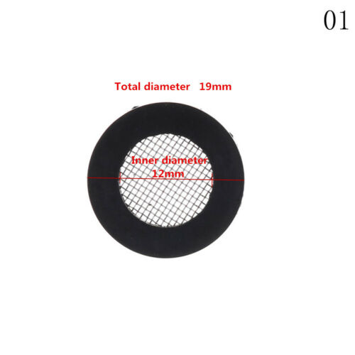 10X 1//2/'/' 3//4/'/' Stainless Steel Water Shower Filter Net Rubber Washer Supplie Al