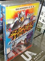 Transformers: Beast Wars - Seasons 2 & 3 (dvd) 4-disc Set 10 Hours Brand