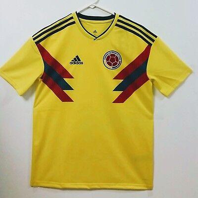 premium selection de7f9 f8ce3 SOCCER YOUTH NEW ADIDAS JERSEY COLOMBIA TEAM JAMES RODRIGUEZ, FALCAO,  CUADRADO.. | eBay