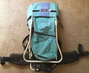 Tough-Traveler-Child-Baby-Carrier-Backpack-Hiking-Made-in-USA-Good-Condition