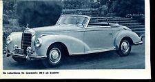 Mercedes--300S-- Roadster --Werbung von 1953